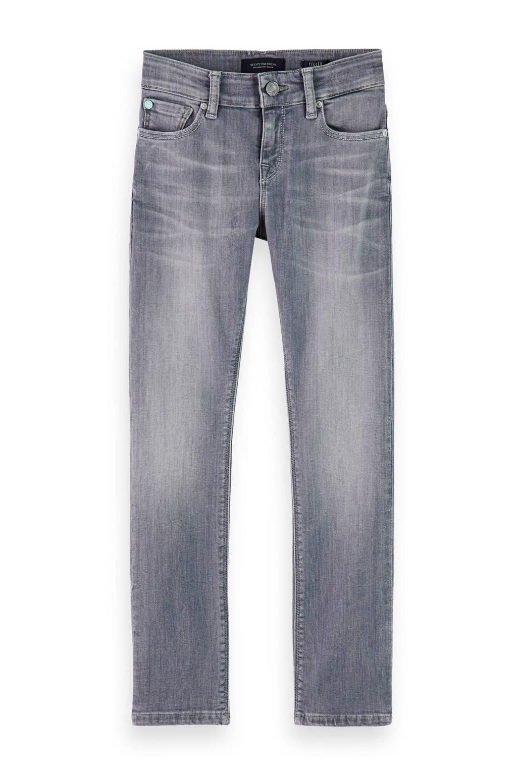 Scotch & Soda super skinny jeans grijs stonewashed, Grijs stonewashed