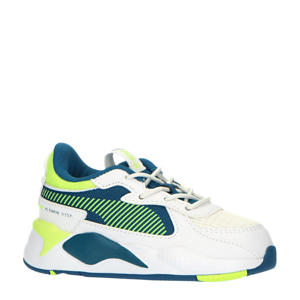 RS-X Hard Drive AC Inf sneakers wit/geel/groen