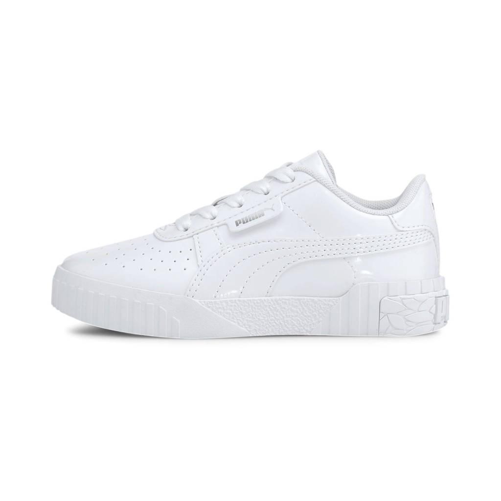 Puma Cali Patent jr. sneakers glanzend wit, Wit