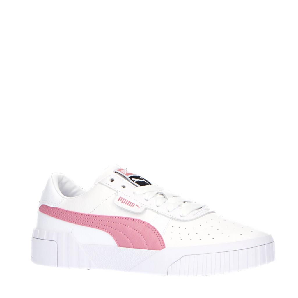Puma   sneakers Cali wit/roze, Wit/roze