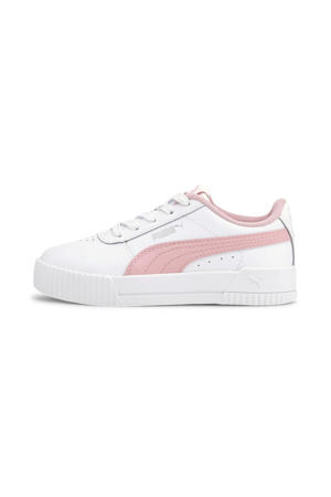 Carina L PS sneakers wit/lichtroze