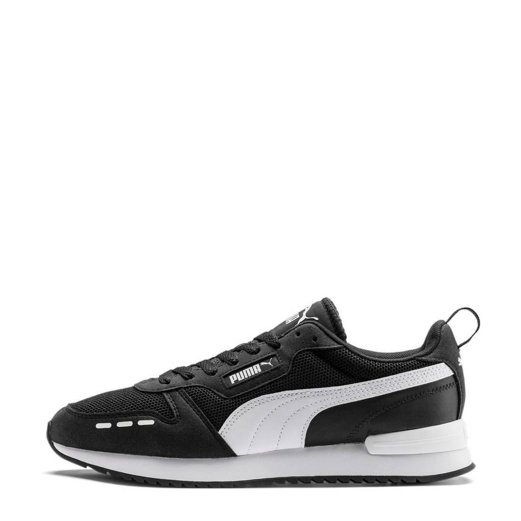 Puma R78  sneakers zwart/wit, Zwart/wit