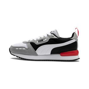 R78 Runner  sneakers lichtgrijs/zwart/rood