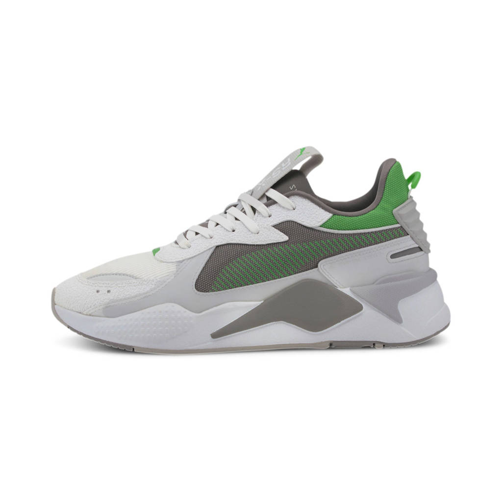 Puma RS-X Hard Drive sneakers wit/grijs/groen, Wit/Grijs/Groen