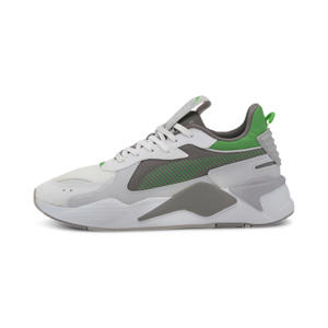 RS-X Hard Drive sneakers wit/grijs/groen