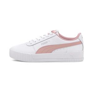 Carina L Jr sneakers wit/roze