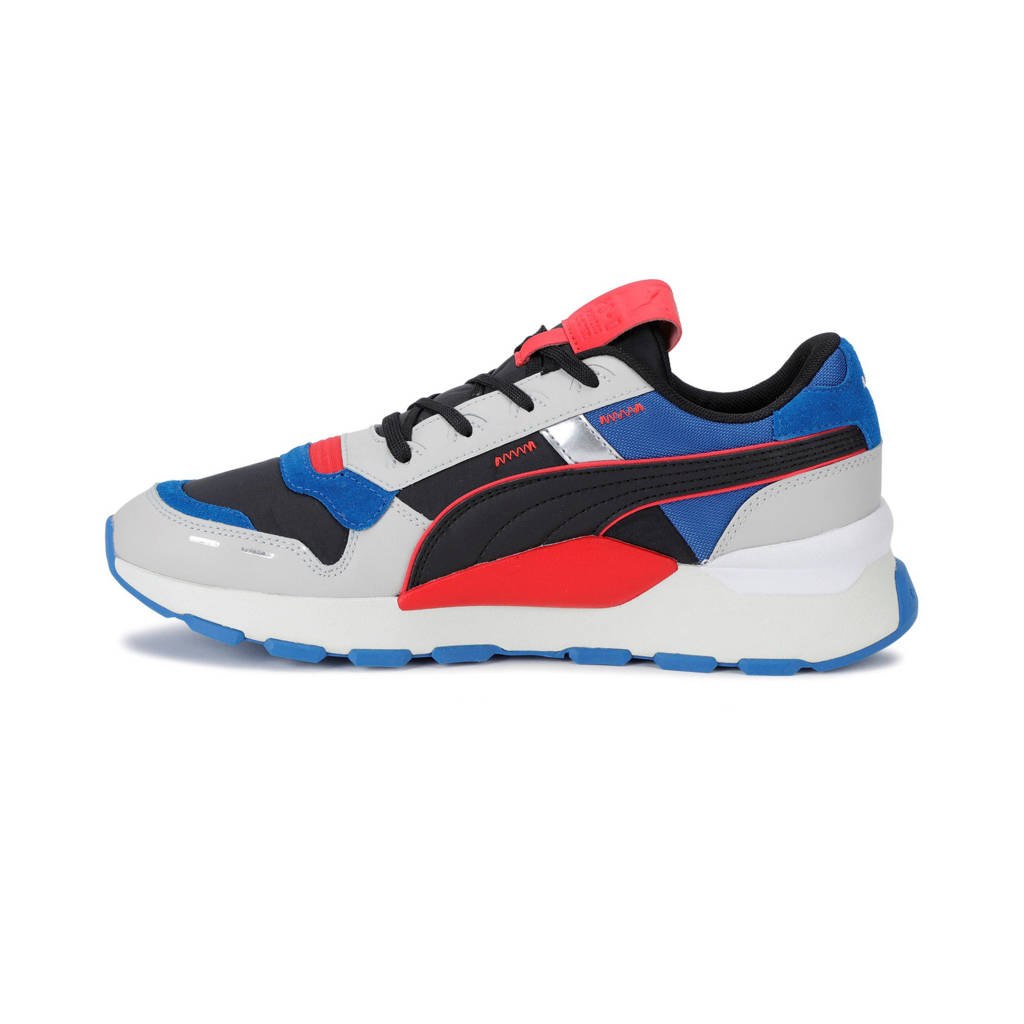 Puma RS 2.0 Futura sneakers lichtgrijs/blauw/rood, Lichtgrijs/blauw/rood