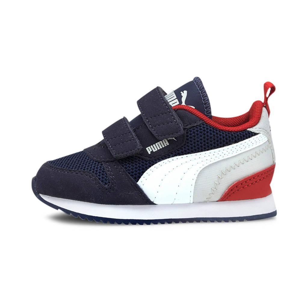 Puma R78 V Inf sneakers donkerblauw/wit/grijs