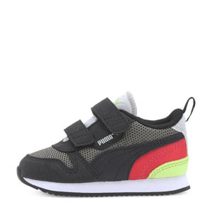 R78 V Inf sneakers grijs/zwart/rood
