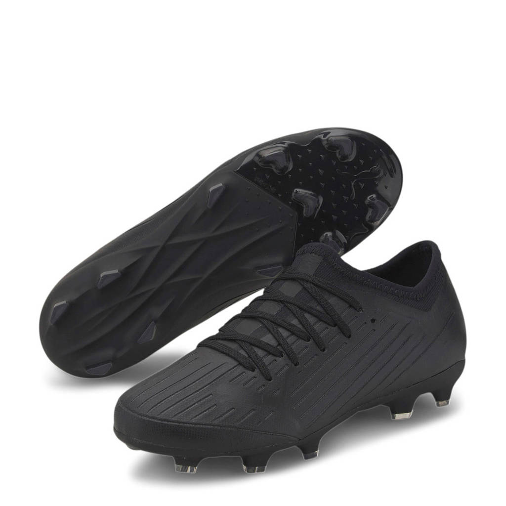 Puma Ultra 3.1 fg/ag Jr. voetbalschoenen zwart, Zwart