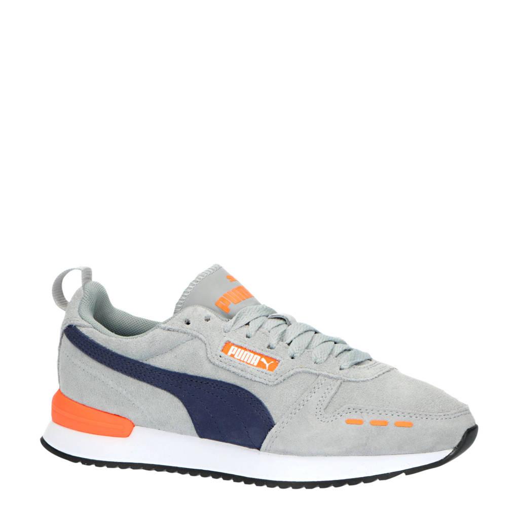 Puma R78 SD Jr sneakers grijs/donkerblauw/oranje, Grijs/donkerblauw/oranje