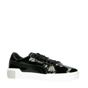 Cali Patent jr. sneakers zwart/wit