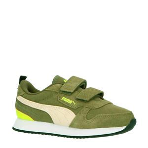 R78 SD V PS sneakers olijfgroen/wit/geel