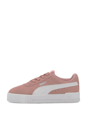 Carina PS sneakers oudroze/wit