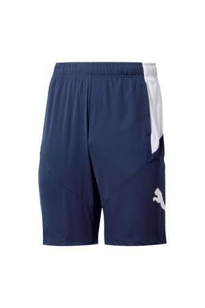 sportshort blauw/wit