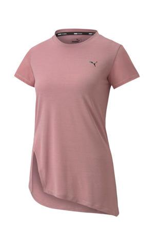 sport T-shirt oudroze