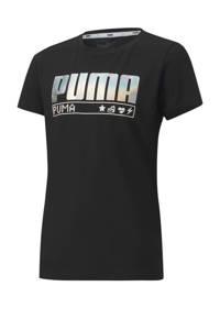 Puma T-shirt zwart, Zwart