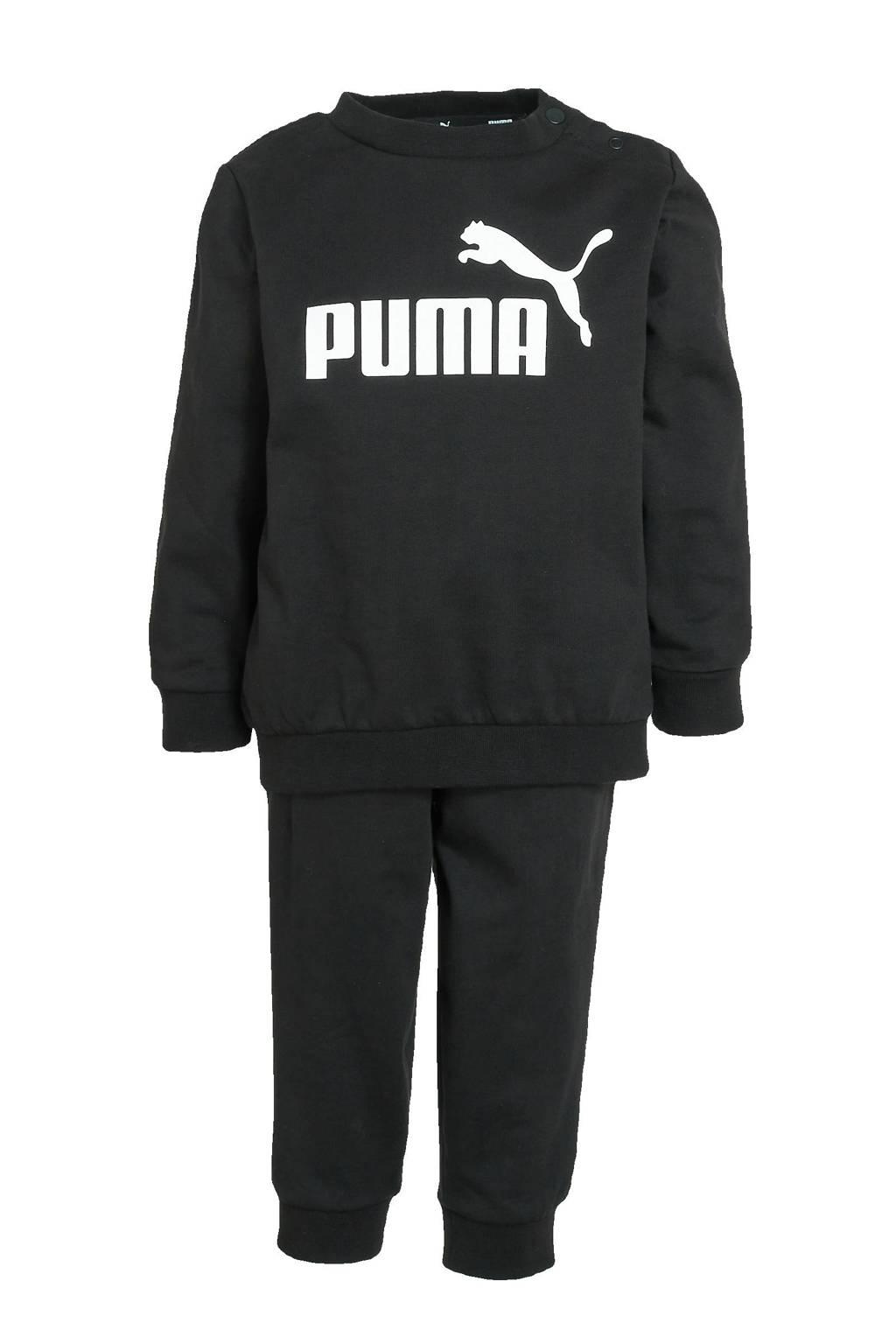 Puma   trainingspak zwart, Zwart