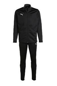 Puma Junior  trainingspak zwart, Zwart