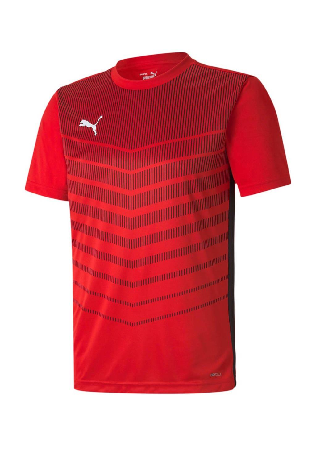 Puma   voetbal T-shirt rood, Rood