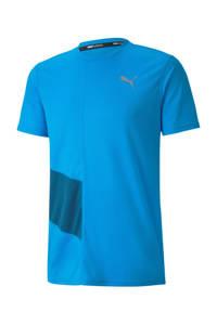 Puma   hardloopshirt turquoise, Turquoise