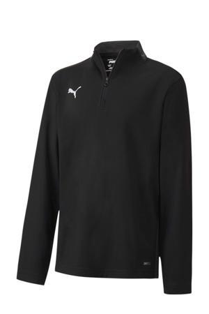 voetbalsweater zwart