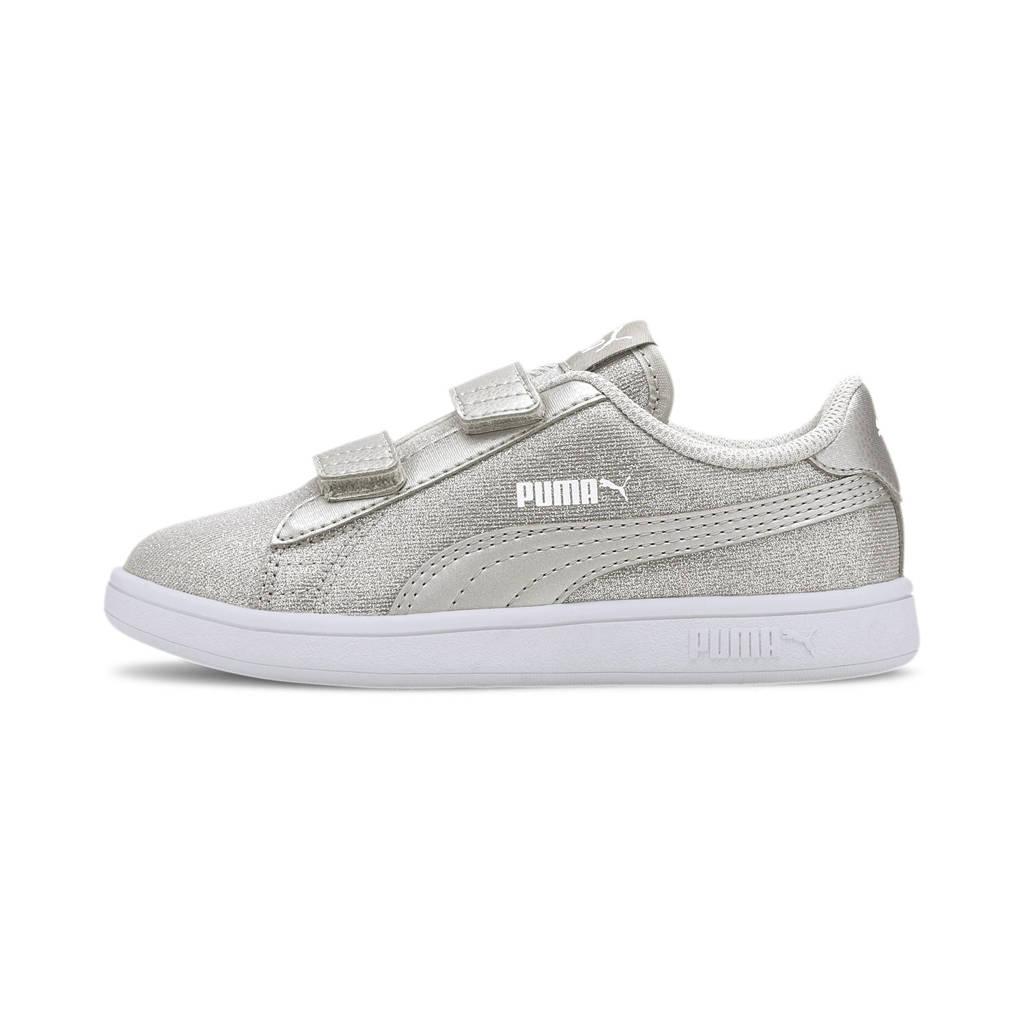 Puma Smash v2 Glitz Glam V PS sneakers zilver, Zilver
