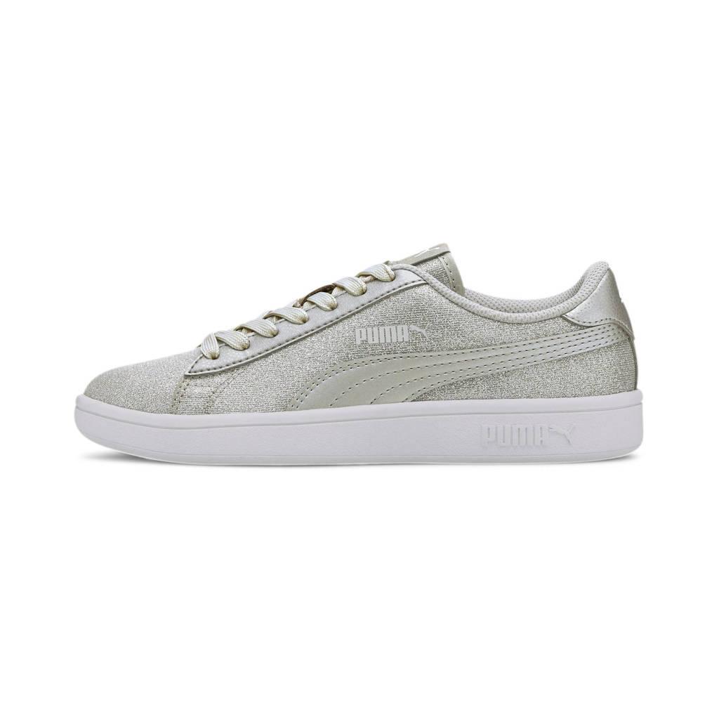 Puma Smash v2 Glitz Glam Jr sneakers zilver, Zilver