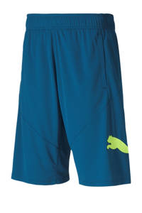Puma   sportshort blauw, Blauw