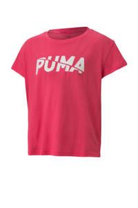 Puma T-shirt roze, Fuchsia
