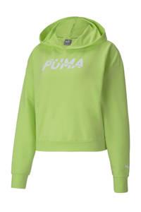 Puma hoodie limegroen, Limegroen