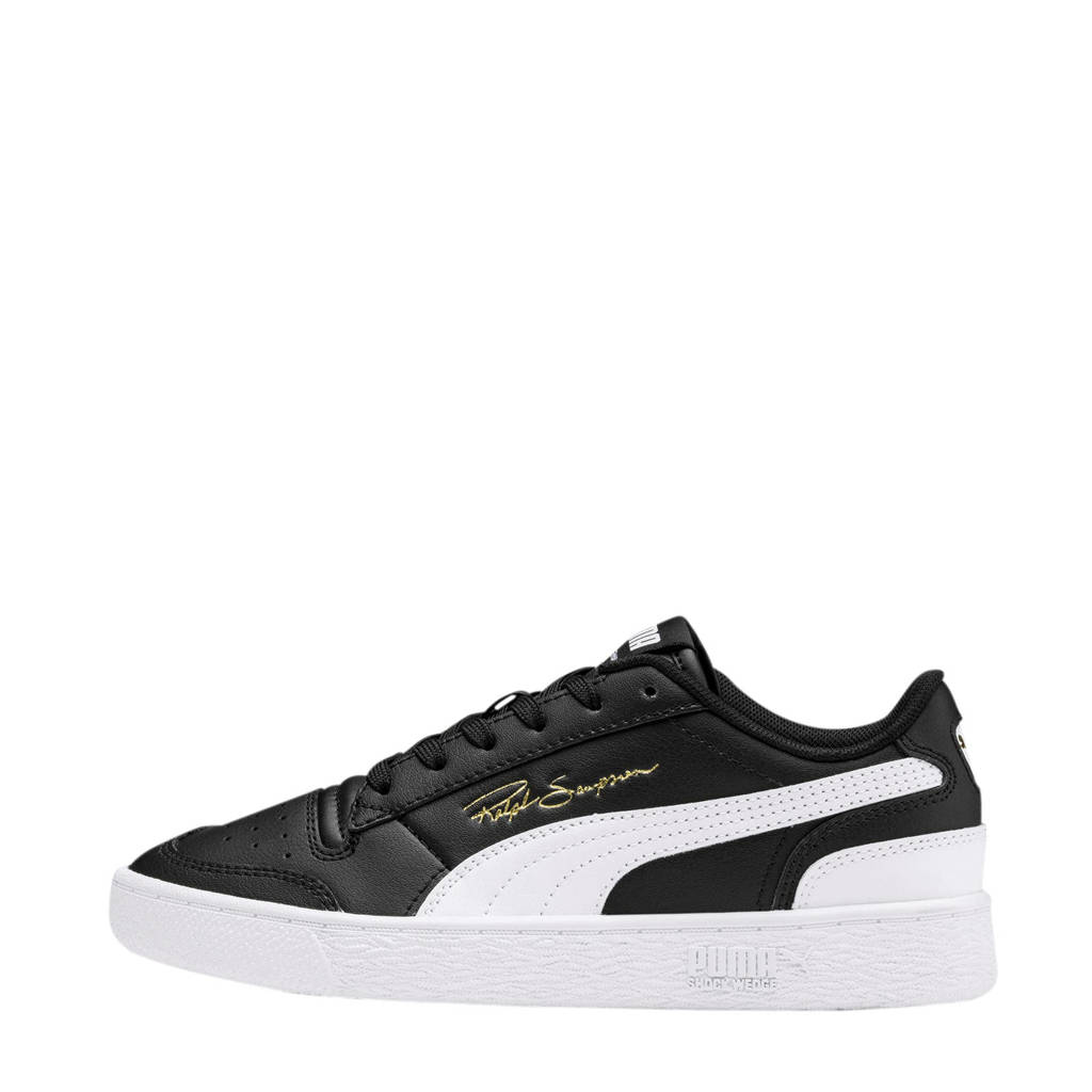 Puma Ralph Sampson  Lo Jr sneakers zwart/wit, Zwart/wit