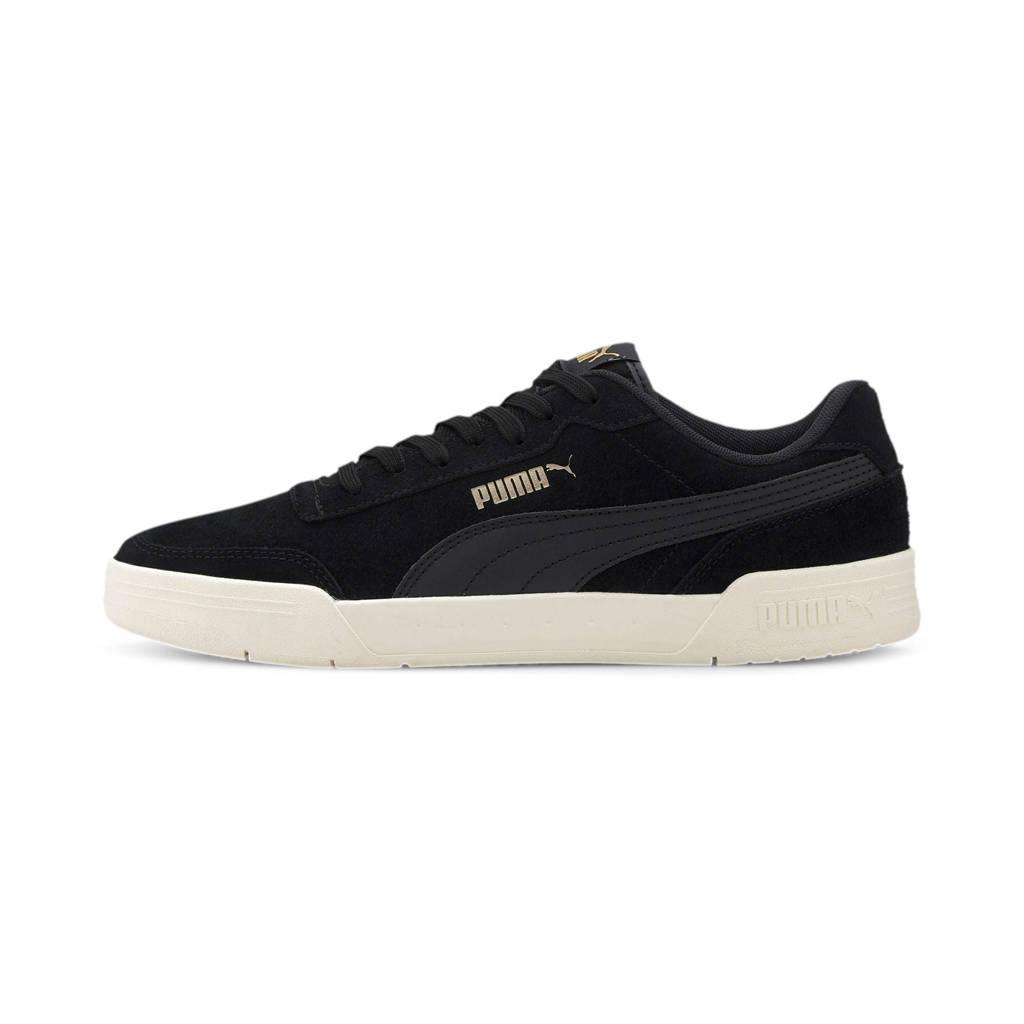 Puma Caracal SD  suède sneakers zwart, Zwart