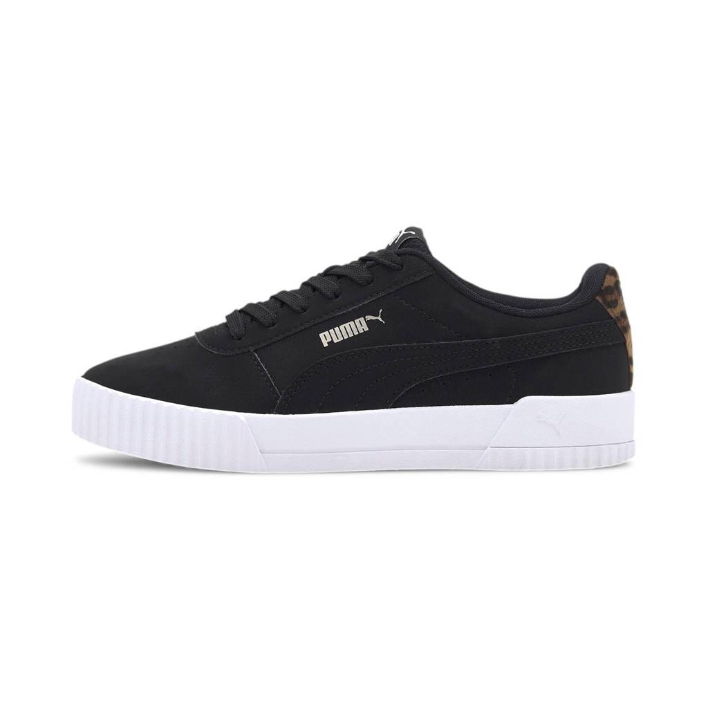 Puma Carina Leo  sneakers zwart, Zwart