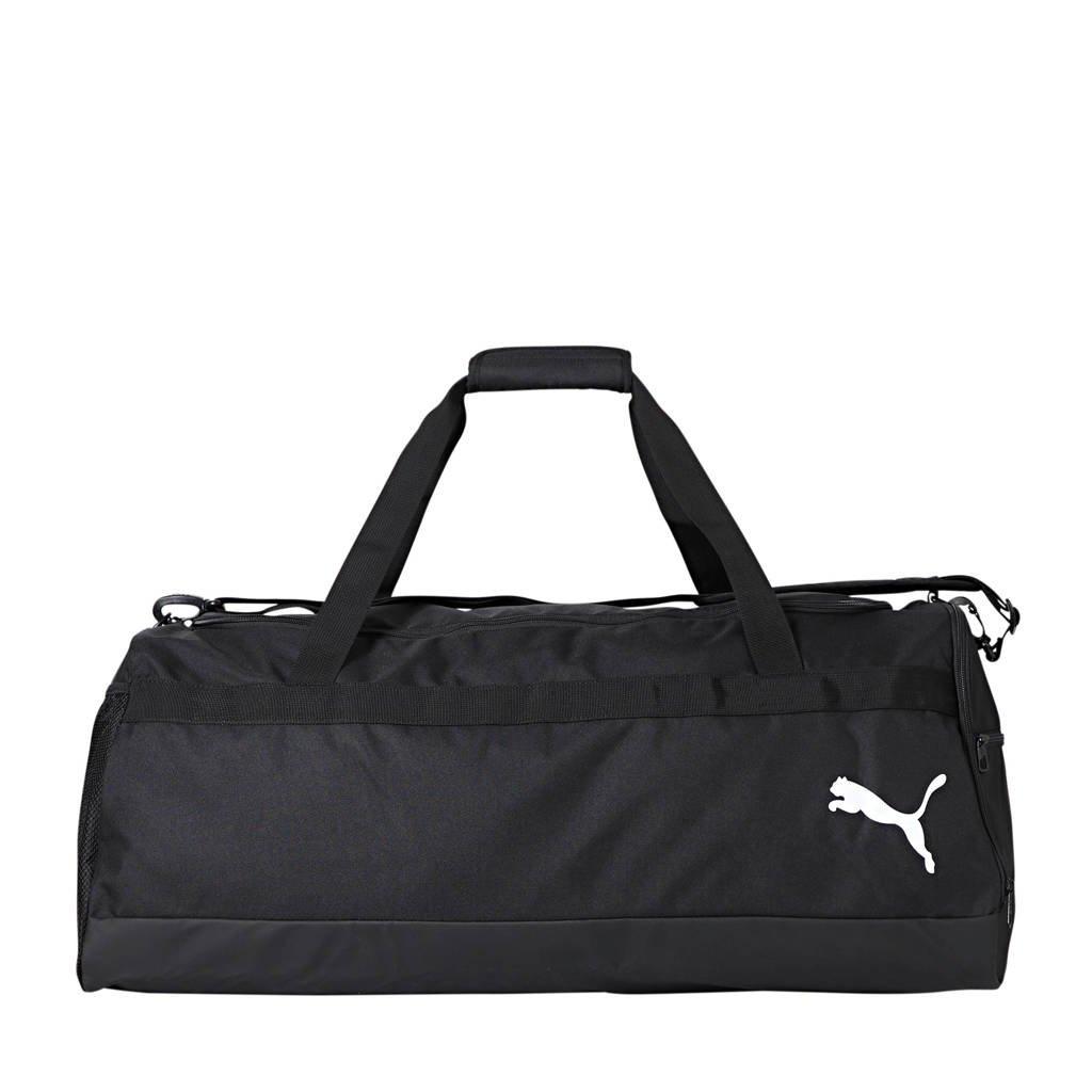Puma   sporttas TeamGOAL 23 L zwart, Zwart/rood