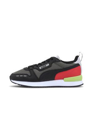R78 Runner  sneakers grijs/zwart/rood