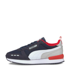 R78 Runner  sneakers donkerblauw/wit/grijs/rood