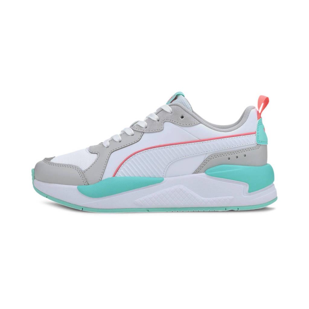 Puma X-ray game  sneakers wit/grijs/aqua, Wit/grijs/mintgroen