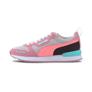 R78 Runner  sneakers lichtgrijs/oudroze/zwart