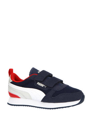 R78 V PS sneakers donkerblauw/wit/grijs