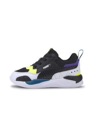 X-Ray 2 Square Jr sneakers zwart/wit/geel