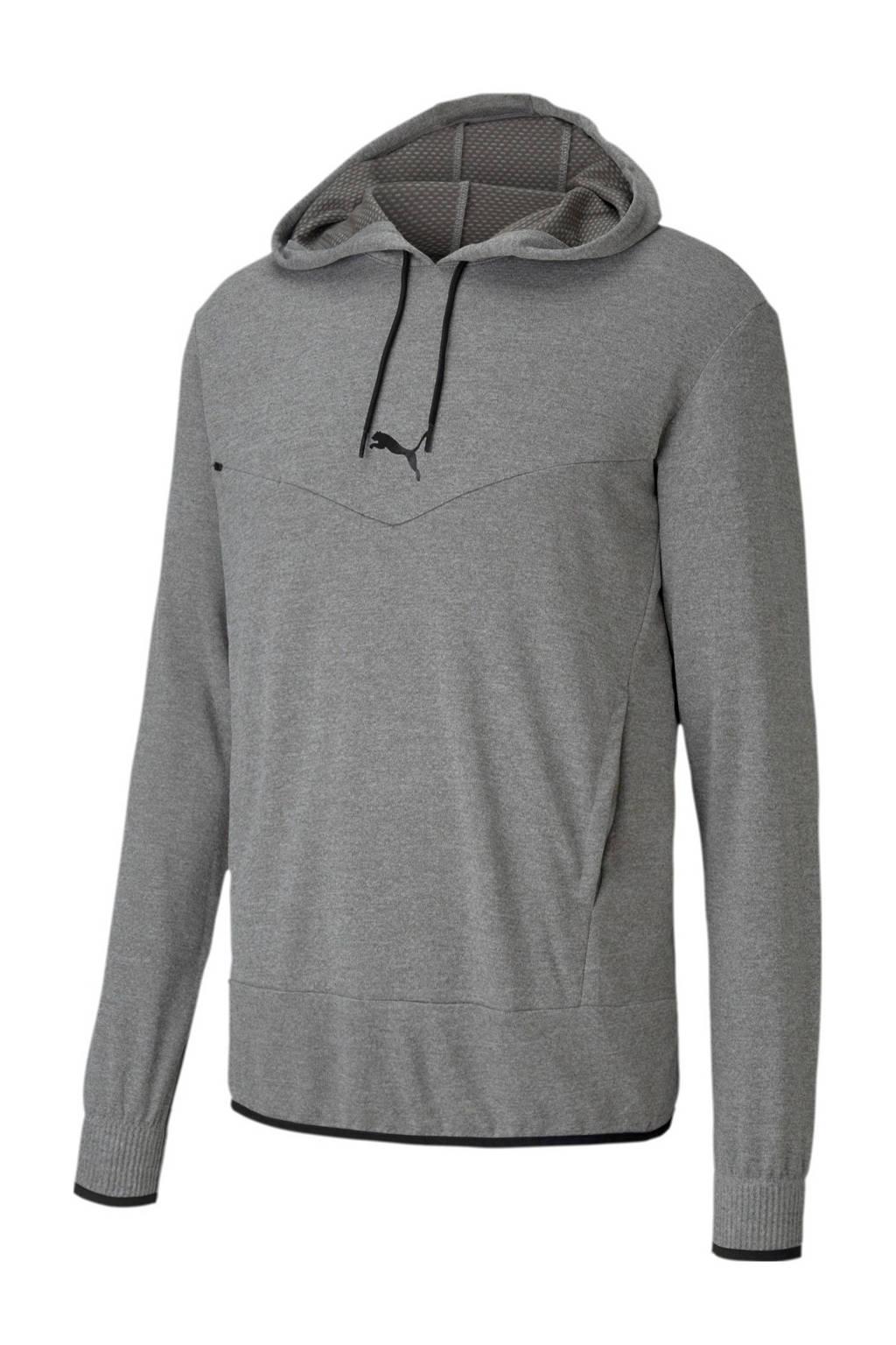 Puma   sportsweater grijs, Grijs