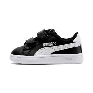 Smash v2 L V Inf leren sneakers zwart/wit