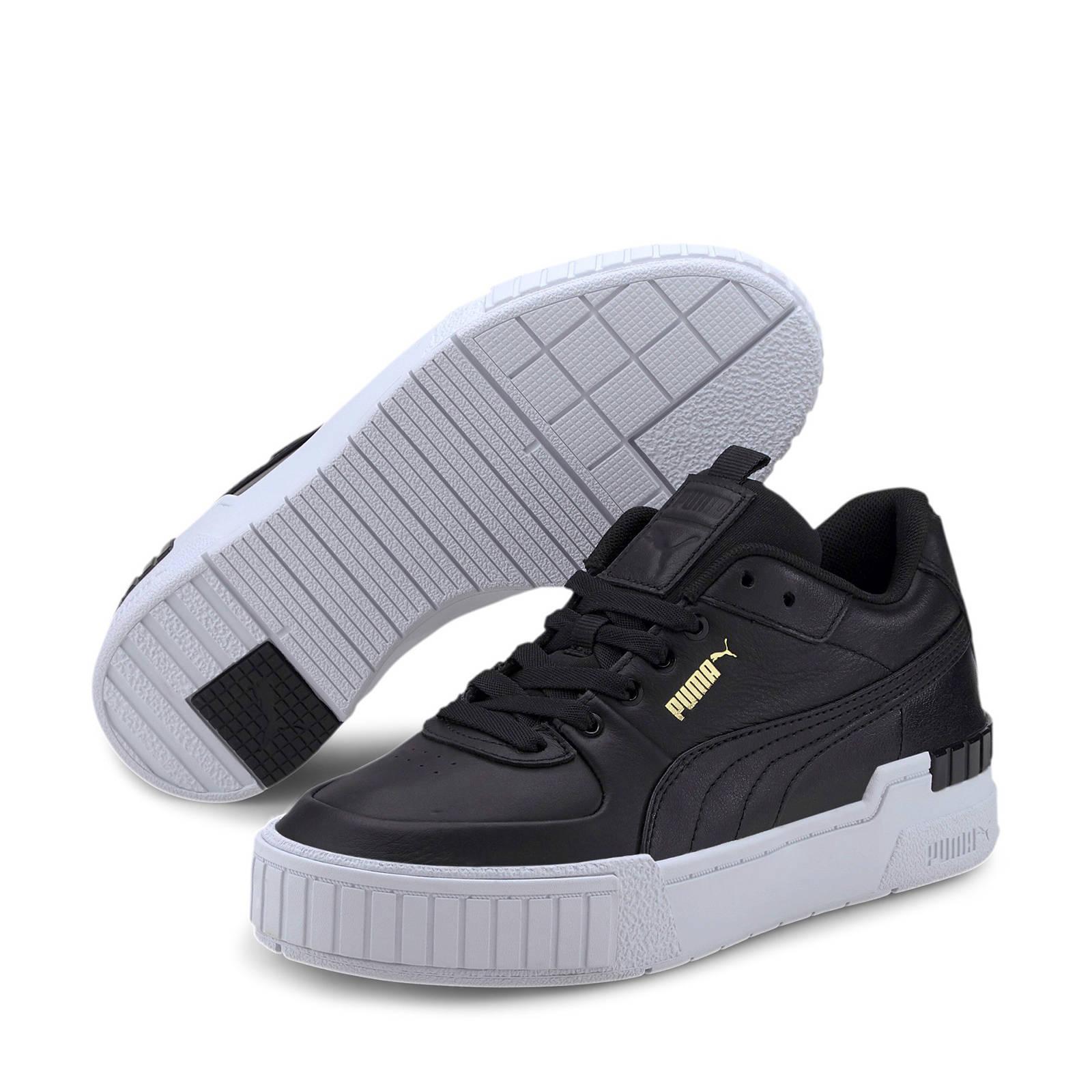 Puma Cali Sport sneakers zwart/wit   wehkamp