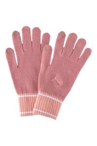 Puma handschoenen oudroze/roze, Oudroze/roze