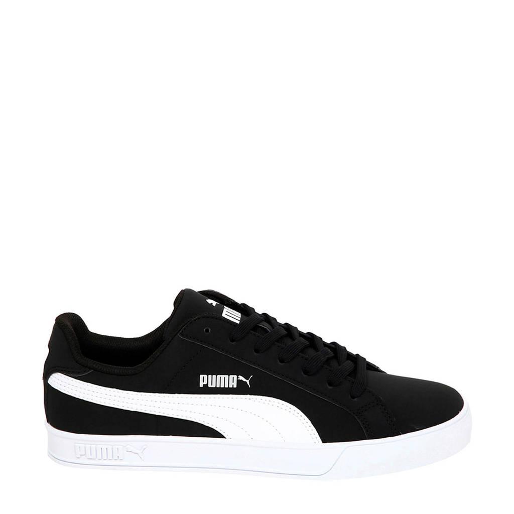 Puma Smash Vulc  sneakers zwart/wit, Zwart