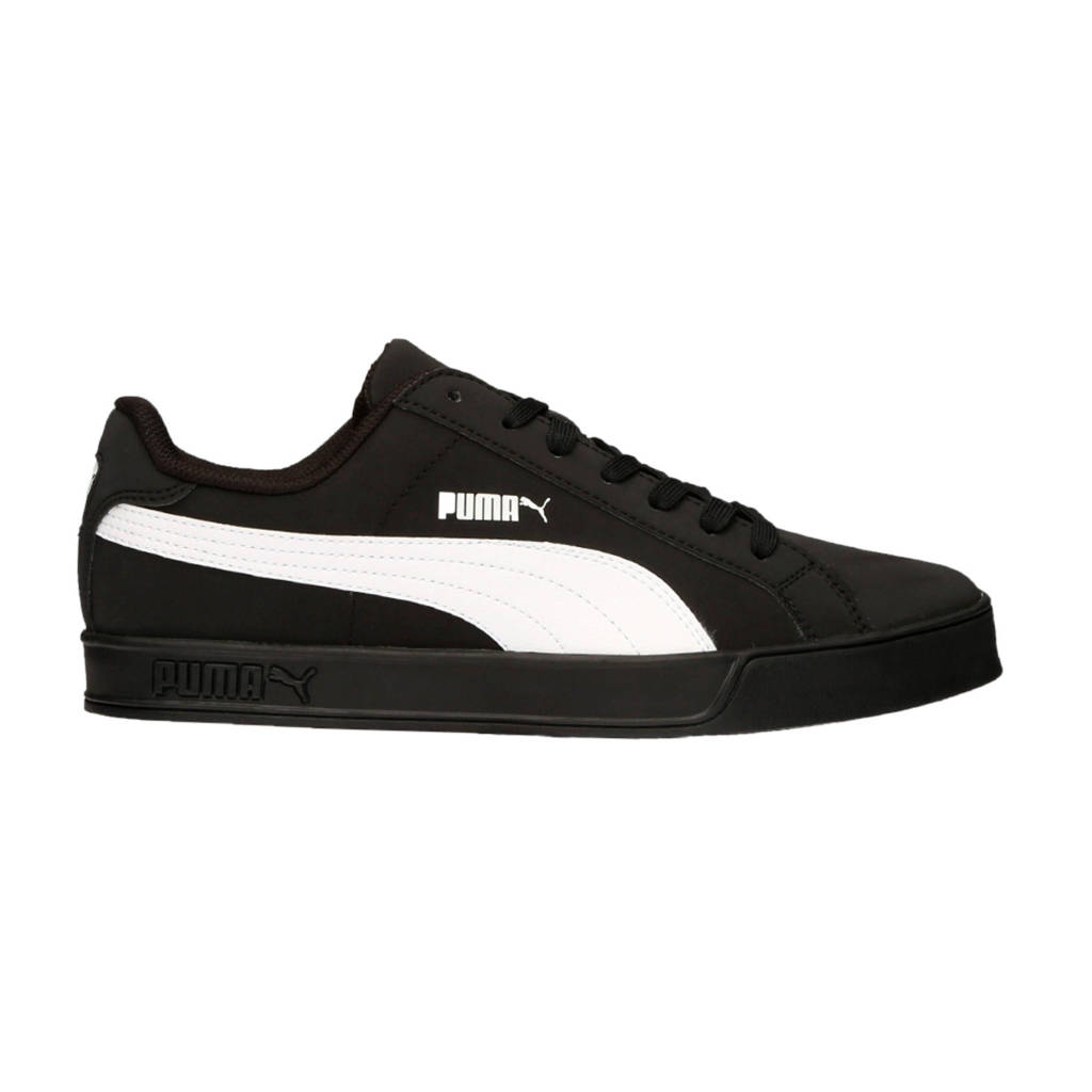 Puma Smash Vulc  sneakers zwart/wit, Zwart/wit