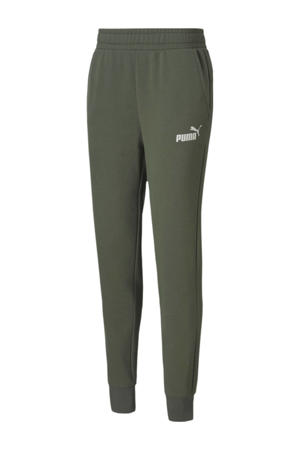 No.1 Logo joggingbroek kaki