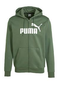 Puma sweatvest groen, Groen