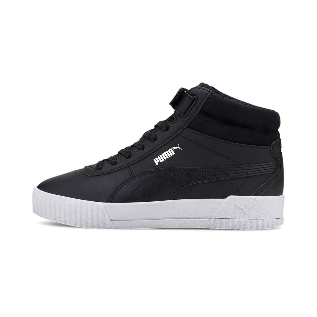 Puma Carina Mid WTR sneakers zwart/wit, Zwart/wit